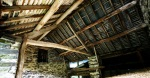 Traditional barn roof, mid-Wales