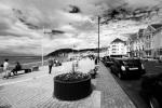 Aberystwyth promenade, Aberystwyth, Ceredigion.