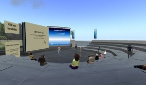 Science online, in Second Life
