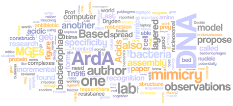 Wordle of the month - August 2009